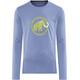 Mammut Logo - T-shirt manches longues Homme - vert/bleu